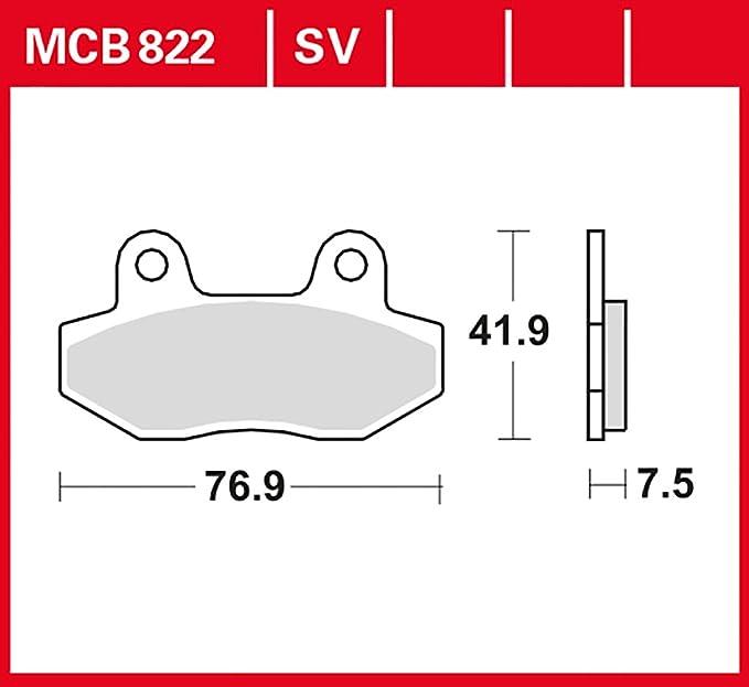 Palanca de freno derecha plateada - HYOSUNG Aquila GV 650