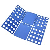 BoxLegend V1 Tshirt Folding Board t Shirt Folder Clothes flip fold Plastic flipfold Laundry Room Organizer 23x27.5inch
