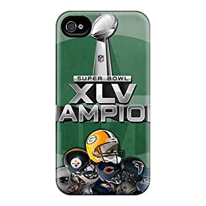 Durable Case For The iphone 6- Eco-friendly Retail Packaging(green Bay Packers)
