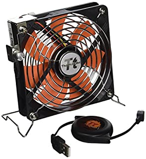 Thermaltake Mobile Fan 12 External USB Cooling 120mm Fan with One-Touch Retractable USB Power Cable Box for Notebook Laptop Desktop. AF0007 (B002OJN250) | Amazon price tracker / tracking, Amazon price history charts, Amazon price watches, Amazon price drop alerts