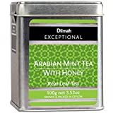 Dilmah Exceptional Arabian Mint with Honey Loose Leaf Caddy, 100 Grams