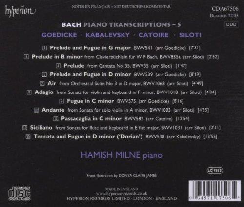 Transcriptions de Bach - Page 2 51ILjz5UwbL