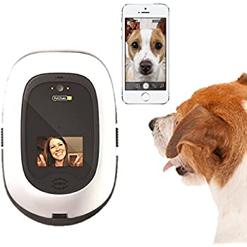 PetChatz HD: two-way premium audio/HD video pet treat camera w/DogTv, smart video recording, calming aromatherapy, and motion/sound detection (as seen on The Today Show)