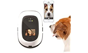 PetChatz HD: two-way premium audio/HD video pet treat camera w/ DogTv, smart video recording, calming aromatherapy, and motion/sound detection (as seen on The Today Show)