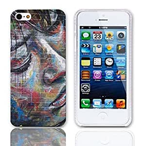 HP DFOil Painting Pattern Back Case with 3-Pack Screen Protectors for iPhone 5/5S
