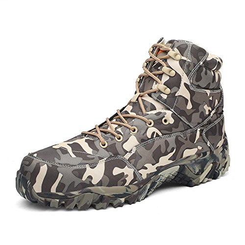 Combat Boot WILD Duty Tactical HAN Boots Work Military Men's Lightweight Grey 4xzaq