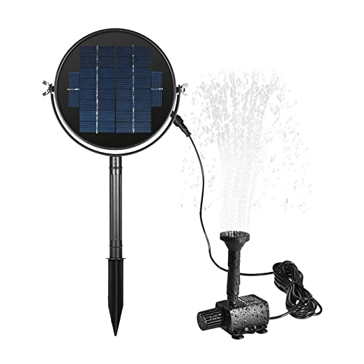 Fuente Solar Negro