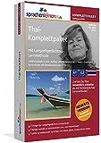 Thai-Komplettpaket: Lernstufen A1 bis C2. Fließend Thai lernen mit der Langzeitgedächtnis-Lernmethode. Sprachkurs-Software auf DVD für Windows/Linux/Mac OS X