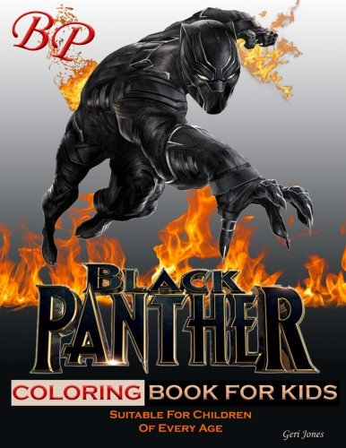 Black Panther Coloring Book: black panther coloring book for kids suitable for both boys & girls, with over a dozen pages to unleash the creative ... wide standard paper size. Happy Coloring! -