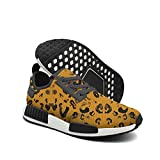 rifle paper co light - Men's Casual Fashion Sneaker I Love Leopard Painting Breathable Lightweight Running Shoes