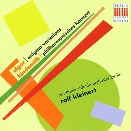 Elgar: Enigma Variations / Hindemith: Philharmonisches Konzert