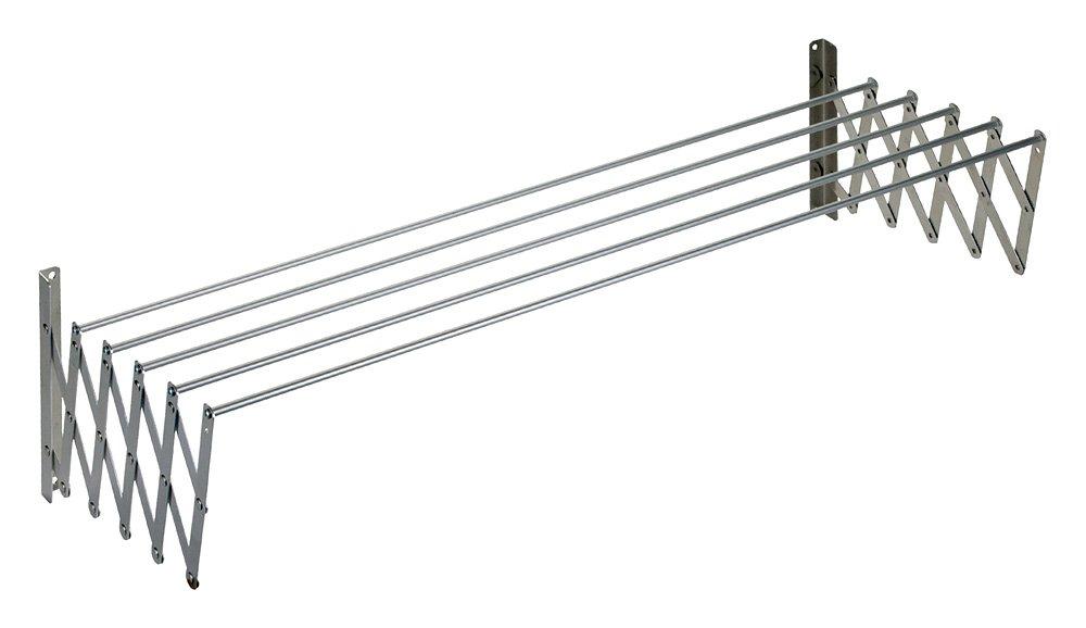 140 cm Gris Wurko Tendedero Extensible Metal