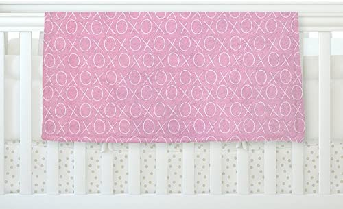 40 x 30 Kess InHouse Heidi Jennings Love Pink Red Fleece Throw Blanket