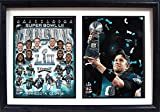 nfl superbowl champion jacket - Superbowl Champions Eagles LII World Champions 12x18 Double Framed Photos-By Encore Select