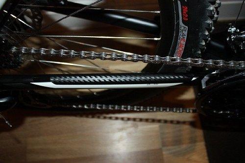 parches Forks//suspensi/ón delantera Fibra de carbono completo protector para bicicleta MTB BMX vainas tubo inferior Hecho por Ellis Graphix