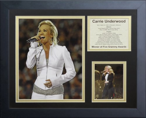Legends Never Die Carrie Underwood III Framed Photo Collage, 11 by 14-Inch by Legends Never Die
