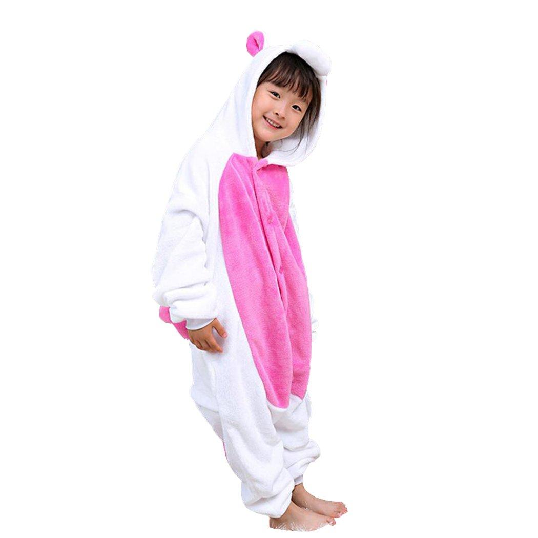 31d63ea683a8 Amazon.com  Unicorn Onesies Pajamas for Kids