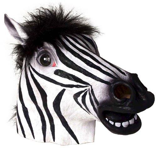 Deluxe Zebra Mask