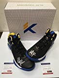 Klay Thompson Autographed Signed Anta K1 Sneakers Shoes Black PSA/DNA Coa