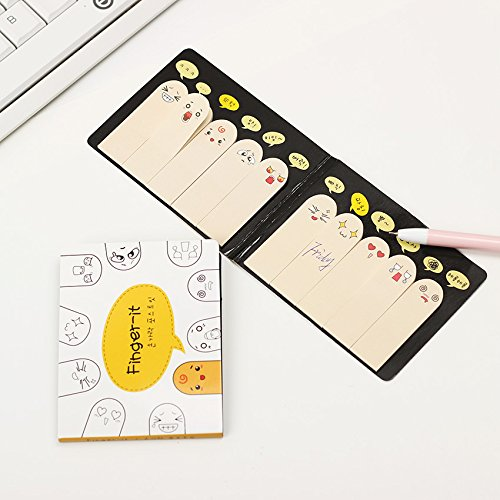 C # Pop Up Calendar (Post It Notes - Small Sticky Notes - 400 Pages/2 Pack Kawaii Unique Scrapbooking Ten Fingers Sticker Bookmark Tab Flags Memo Book Marker Sticky Notes - Self Stick Notes - Christmas Gift For Kids)