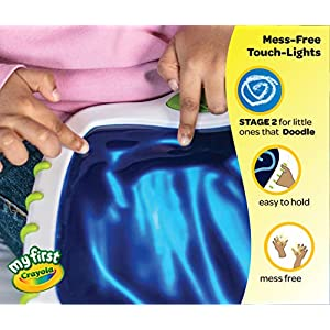My First Crayola Touch Lights, Musical Doodle Board, Toddler Toy, Gift