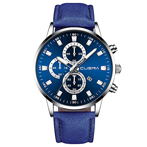 Muranba WatchesMen Busine Luxury Sports Watch Analog Sport Leather Busine Quartz Mens Watches