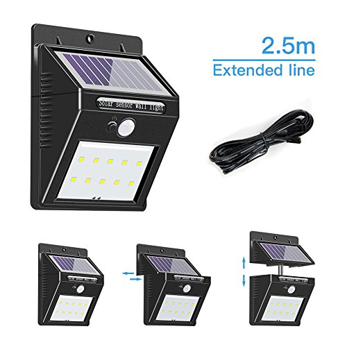 Outdoor Led Wall Light With Pir - 3
