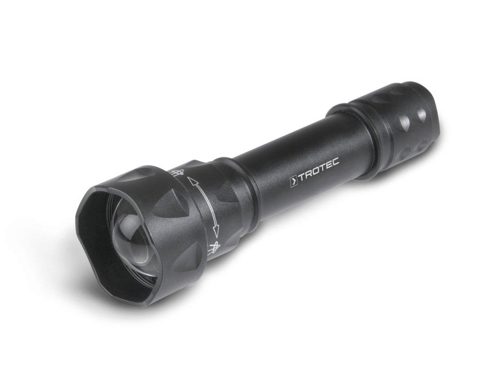 TROTEC UV-Torchlight 15F - Ultraviolett LED UV Taschenlampe 365nm, UV-Strahler, Handlampe, Prüfgerät, Fleckendetektor / Urindetektor für Haustiere