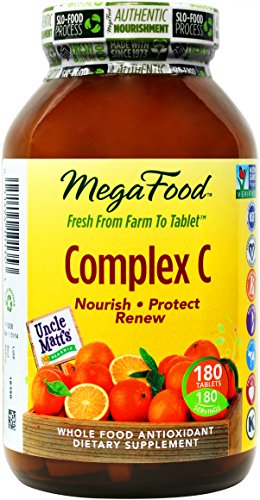 MegaFood – Complex C, Supports & Maintains Healthy Immune Function, 180 Tablets (FFP)