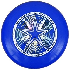 Discraft Ultra-Star 175g Ultimate Frisbee Starburst - royal blau