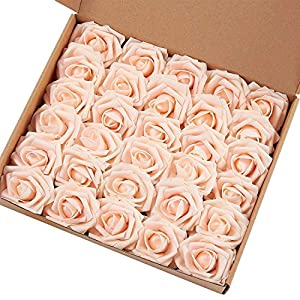 Sunsun99 Rose,30pcs Real Touch Artificial Roses DIY Marry Acting Artificial Flower 19