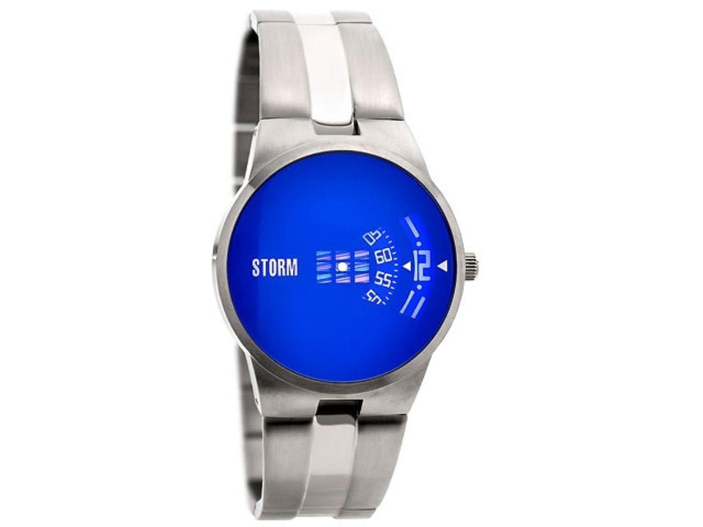 Storm Herrenarmbanduhr Edelstahl 47210-B New Remi Lazer Blue
