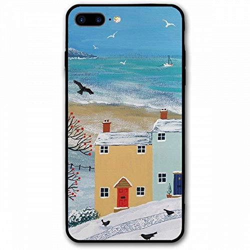 iPhone 7 Plus/8 Plus Cover Shockproof Hard Glass for iPhone 7Plus/8 Plus Case 5.5