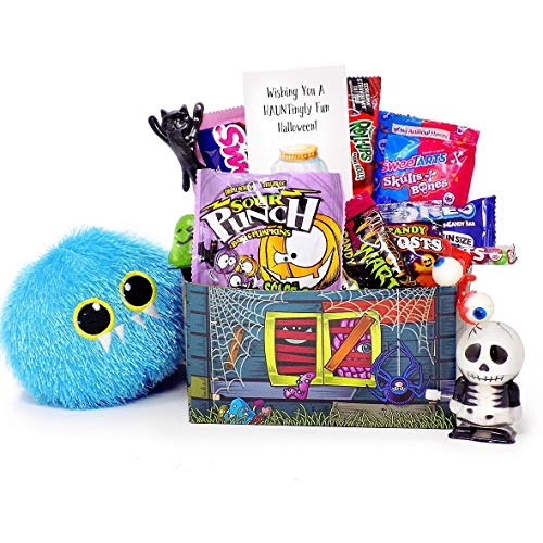Happy Haunting! Fun Halloween Candy and Toy Gift