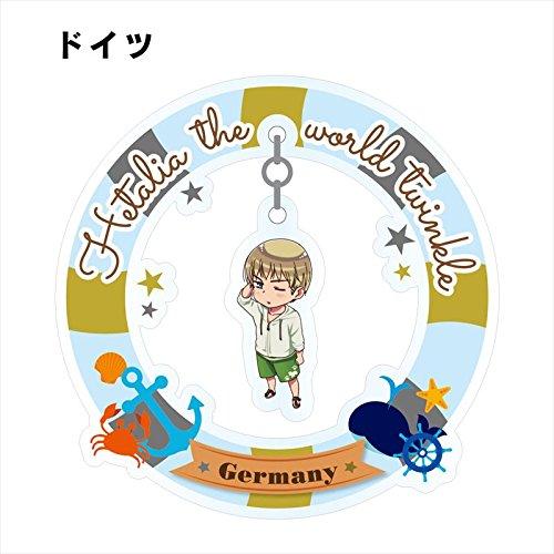 Hetalia The World Twinkle Trading Yurayura Swinging Acrylic Stand 8Pack Box アルマビアンカ armabianca