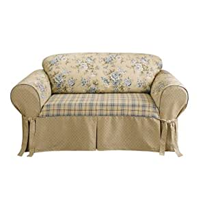 Amazon.com - Sure Fit Lexington Sofa Slipcover, Multi ...  |Amazon Sure Fit Slipcovers