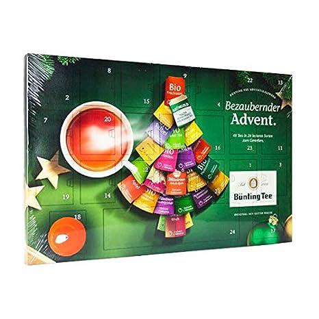 Weihnachtskalender Tee.Bünting Tee Adventskalender 1er Pack 1 X 102 6 G