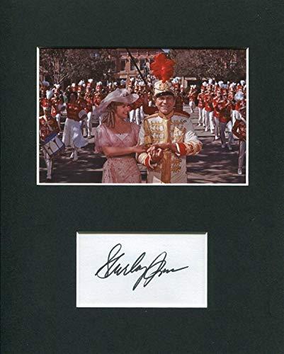 Shirley Jones The Music Man Rare Signed Autograph Photo Display W Robert Preston from Hollywood Memorabilia