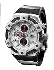 CALABRIA - ARMATO OPACO - White Dial Men Watch with Carbon Fiber Bezel