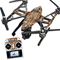 Skin For Yuneec Q500 & Q500+ Drone – Pheasant Feathers | MightySkins Protective, Durable, and Unique Vinyl Decal wrap cover | Easy To Apply, Remove, and Change Styles | Made in the USA