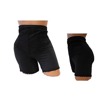 1 or 6 or 12 pieces SHELLEY Lace Tummy Control High Waist Boyshorts Panty (Shelley)