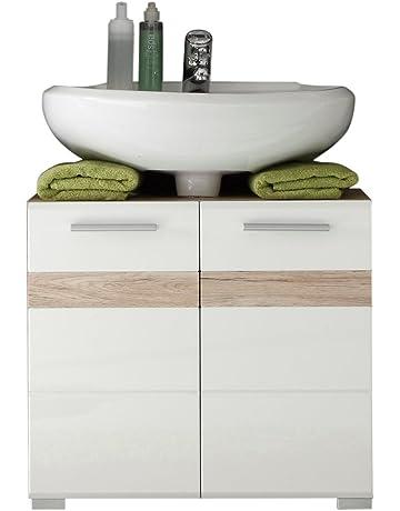 Trendteam 133630196 Set One - Mueble para debajo de lavabo, roble San Remo claro,