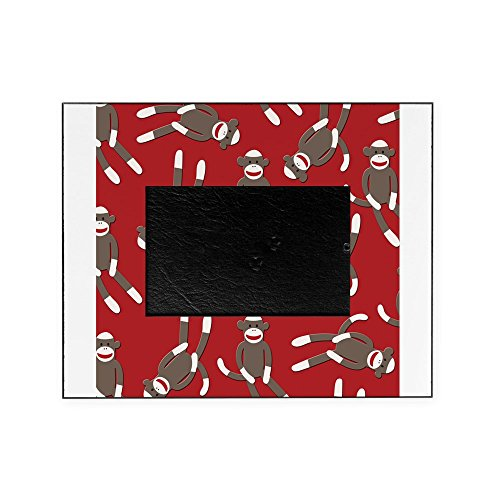 CafePress - Red Sock Monkey Print - Decorative 8x10 Picture Frame