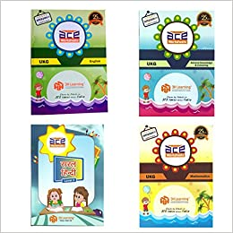 Buy ACE UKG Kids All-in-One Practice Early learning Worksheets for ...