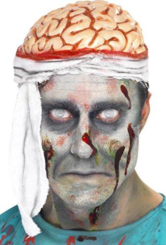 Smiffys Men's Bandage Brain Hat