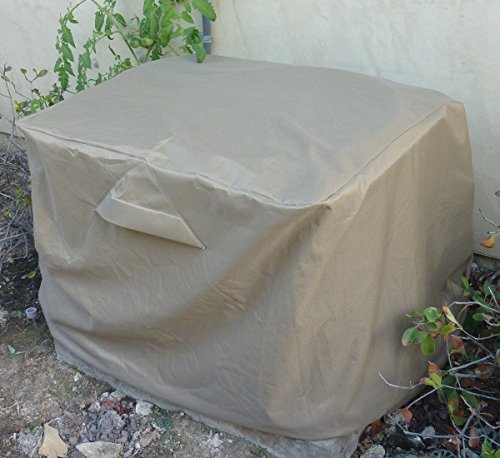 Extra large rectangular Air Conditioner Cover 38