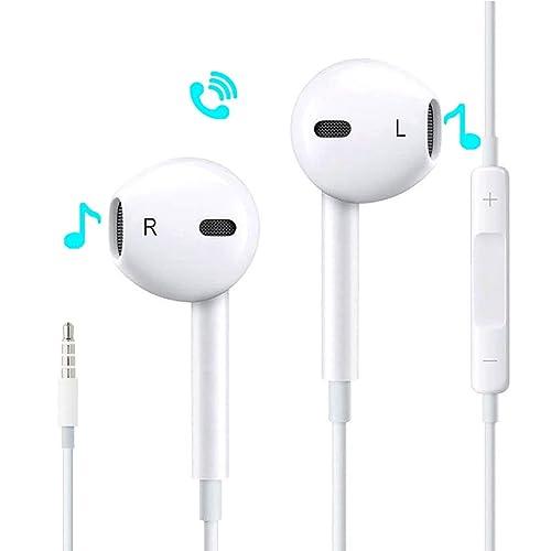Auriculares intrauditivos, Auriculares con Cable con Control Remoto y micrófono para Apple iPhone6 6s 6