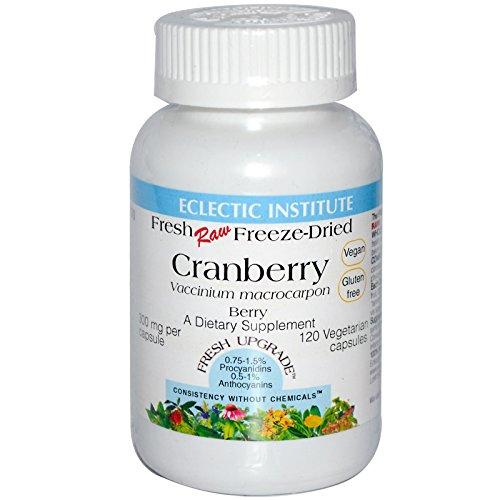 Eclectic Institute, Cranberry, 120 Veggie Caps - 3PC