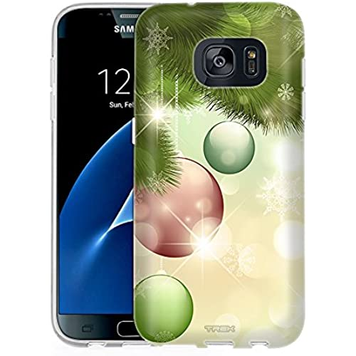 Samsung Galaxy S7 Case, Snap On Cover by Trek Christmas Ornaments on the Tree One Piece Slim Case Sales