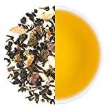 Teabox Kashmiri Kahwa Green Tea 3.5oz/100g (40 Cups) from India, Loose Leaf with Natural Ingredients: Saffron, Almond, Cardamom | Delivered Garden Fresh Direct from Source